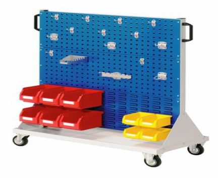 WERKS Component Trolley- Size 3. Buy Trolleys / Carts Online - Hand Trolleys, Hand Carts - Backsafe Australia