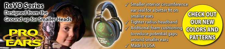 Pro Ears: The worlds most advanced electronic hearing protection. High NRR or noise attenuation, exceptional amplification, audiophile sound. Safe, OSHA compliant passive earmuffs for military, law enforcement, industrial and shooting sports