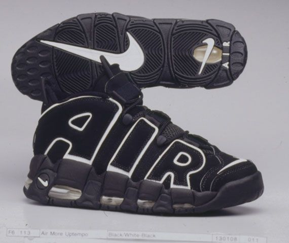 20 Years Of Nike Basketball Design: Air More Uptempo (1996)