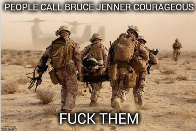 BJ is a whacko nut job desperate for attention! Our military voluntarily put their lives on the line every day to protect our freedoms - never mind that we are throwing them away...
