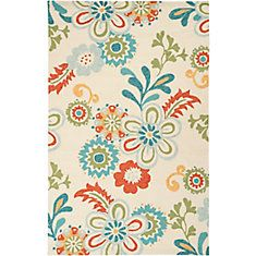 Capucci Putty Polypropylene Indoor/Outdoor  - 8 Ft. x 10 Ft. 6 In. Area Rug