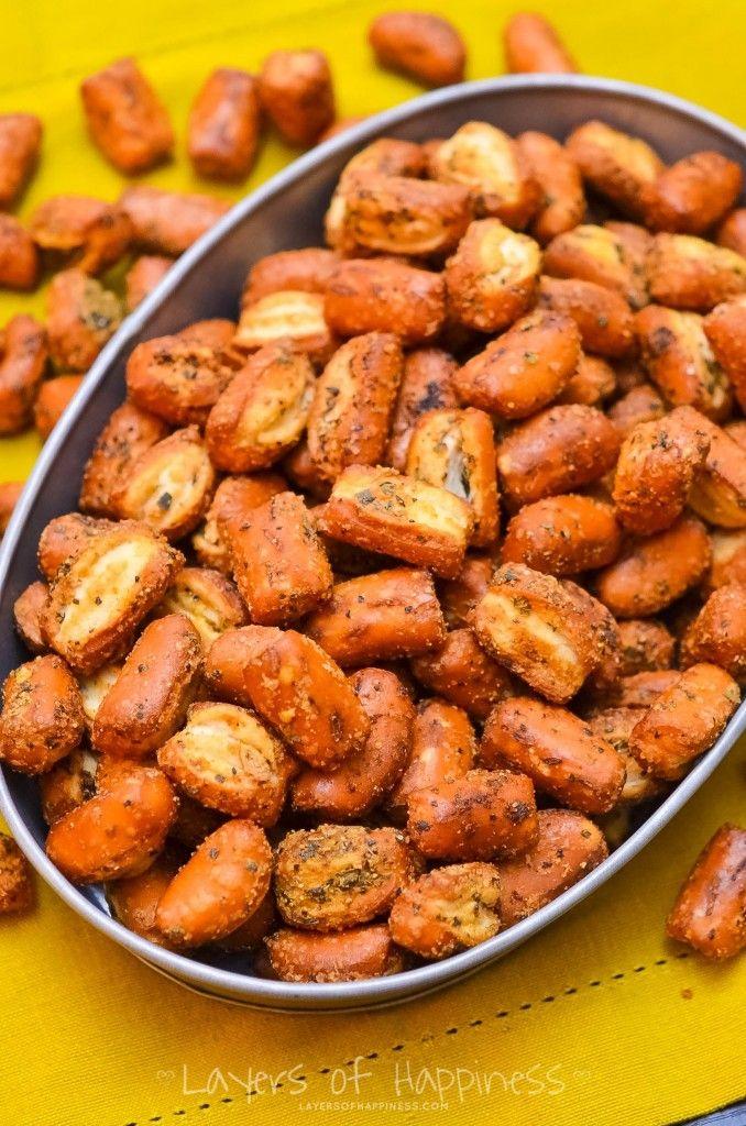 25+ best ideas about Seasoned pretzels on Pinterest ...