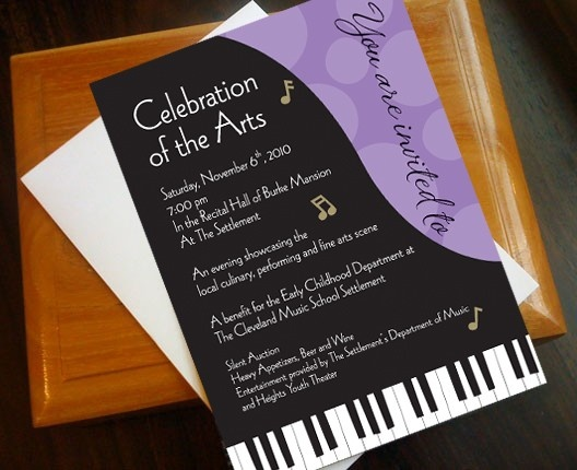 41 best Symphony \ music invitations images on Pinterest - fundraiser invitation