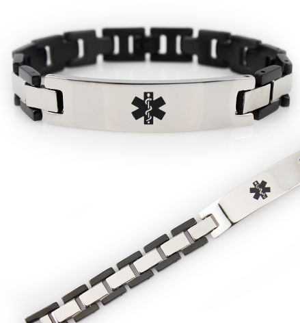 Ryder Stainless Steel Medical ID Bracelet
