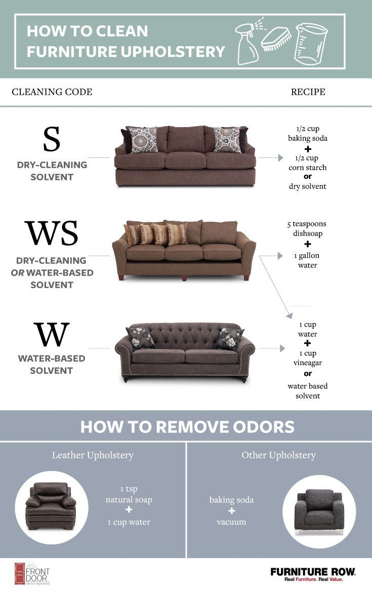 How to clean furniture upholstery cleaning pinterest furniture