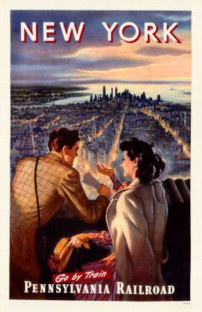 New-York d'autrefois en affiche dans Photographies du monde d'autrefois MP5042