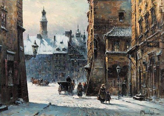 Władysław Chmieliński (Stachowicz) | Warsaw Old Market Square, after 1945 .