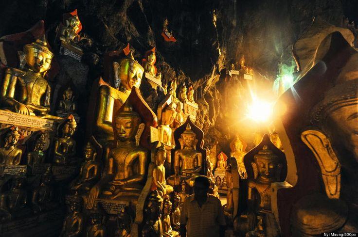 Crédit photo : Nyi Maung Pindaya cave Birmanie