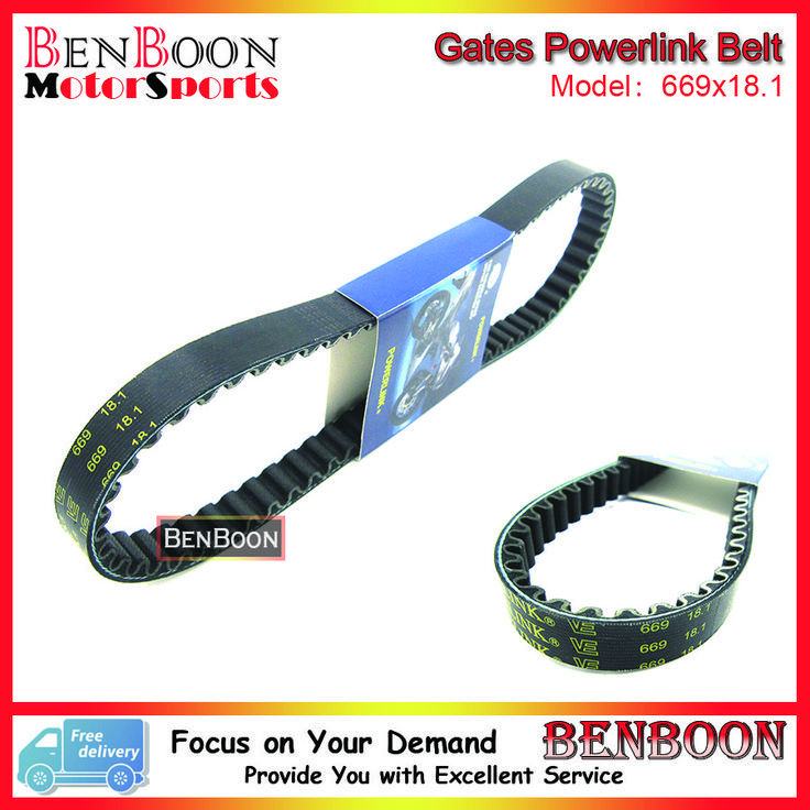 Discount! US $11.10  Gates Powerlink Drive V-Belt 669x18.1 for GY6 50cc 139QMB Engine Chinese Scooters ATV and Go Kart Baotian Sunl Roketa Romet Baja  #Gates #Powerlink #Drive #VBelt #Engine #Chinese #Scooters #Kart #Baotian #Sunl #Roketa #Romet #Baja  #Online