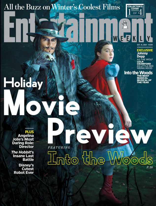 First Look at Johnny Depp as The Wolf in Into the Woods! Plus, See the Cast in Their Fairy-Tale Costumes