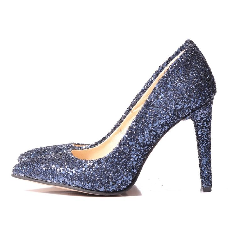 GLITTER Stiletto shoes - romanian designers SHOP ONLINE