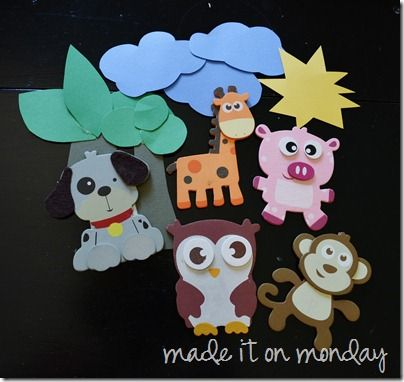Magnetic toddler activities using a cookie sheet--great quiet time or car trip activities!