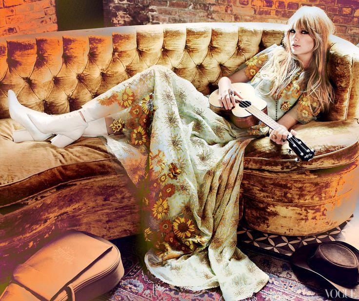 .: Mario Testino, Taylor Swift, Taylorswift, Hippie Style, Single Life, Mariotestino, Taylors Swift, Hair, Boho Fashion