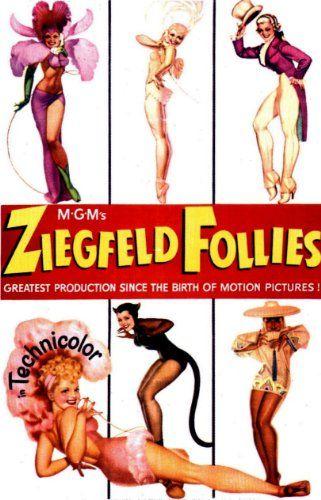 Fantastic A4 Glossy Print - 'Ziegfield Follies' - Taken From A Rare Vintage Movie / Film Poster by Unknown http://www.amazon.co.uk/dp/B0095RFB08/ref=cm_sw_r_pi_dp_oBZjvb0394JSB