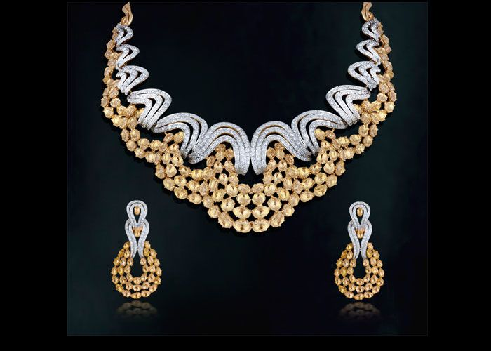 Amazing Jewelry ~ when you can't decide between gold or silver!