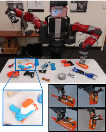 Deep Learning Robot Takes 10 Days to Teach Itself to Grasp Leave a human baby with some toys and it'll quickly learn to pick them up. Now a robot with deep learning capabilities has done the same thing. | MIT Technology Review 10/5/15