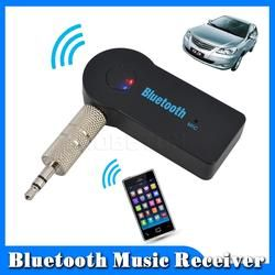 Handsfree Car Bluetooth Music Receiver With Mic