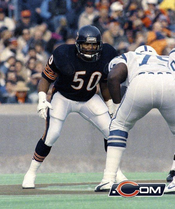 Mike Singletary - Chicago Bears Hall of Famer