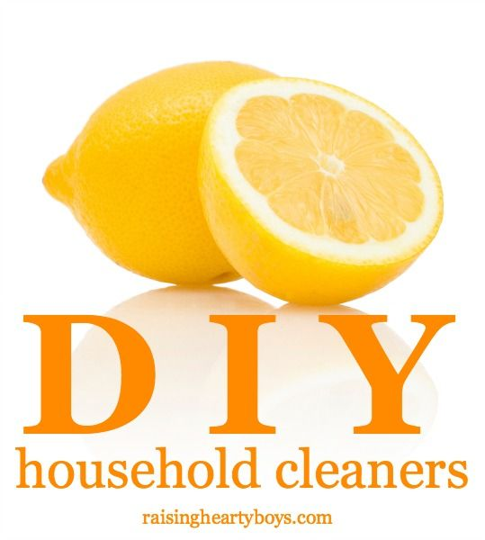 5 super simple DIY household cleaner recipes from around the web!
