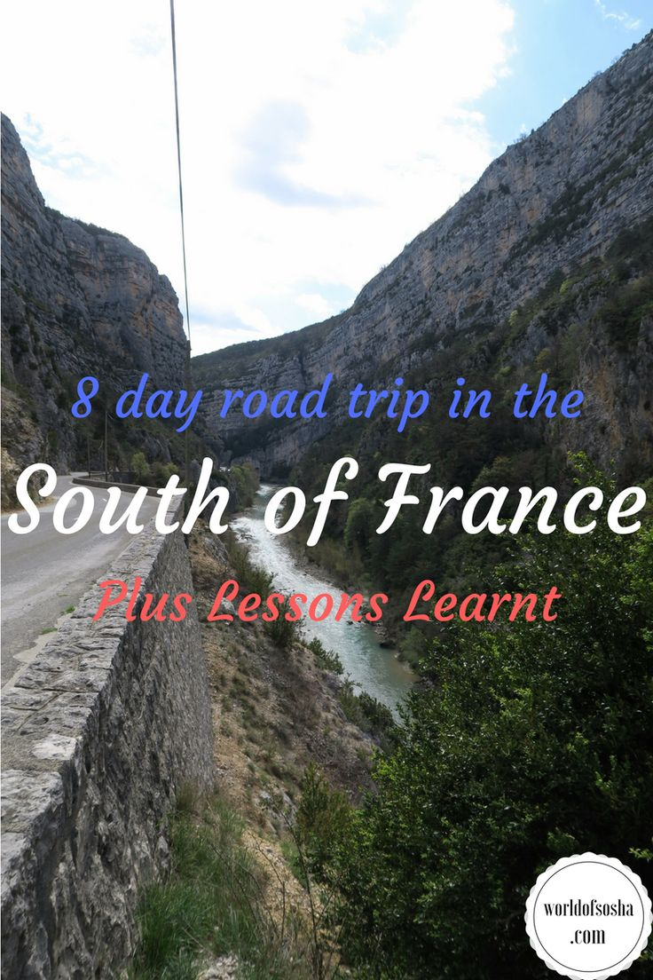 Our 8 day South of France Road Trip with Lessons Learnt – World of Sosha
