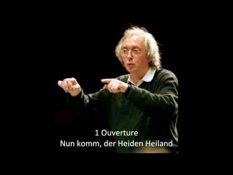 ▶ J.S. Bach - BWV 61, Cantata (FULL) -  Philippe Herreweghe,1996 - YouTube