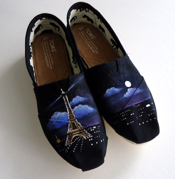 Bonne Nuit TOMS. $105.00, via Etsy. so so pretty