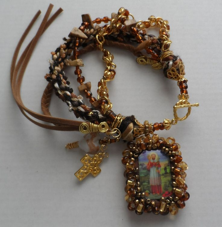 Escapulario Necklace: 17 Best Images About Diy Religiosos On Pinterest