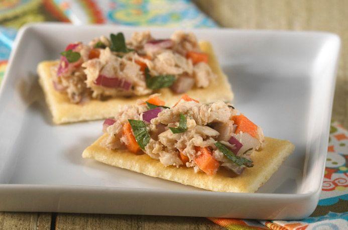 Mediterranean Tuna Salad | APPETIZERS/DIPS | Pinterest