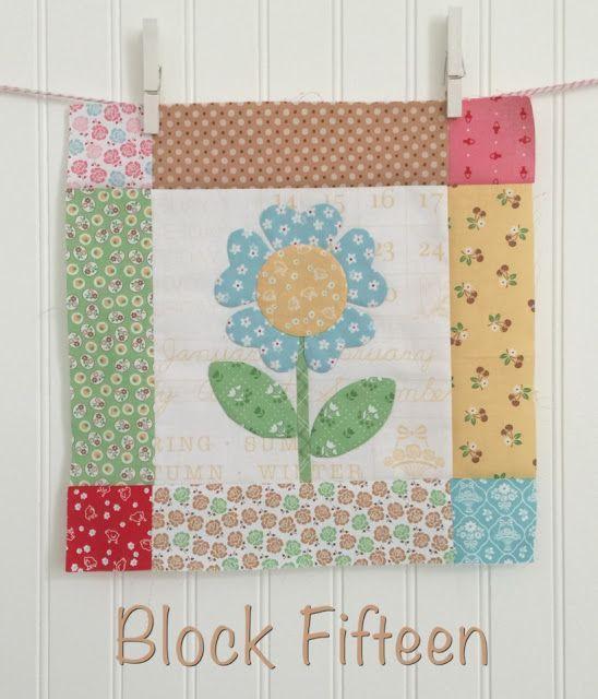 Bee In My Bonnet: BLOOM Sew Along - Week Fifteen - Block Fifteen!!