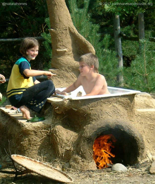 ''If everyone had a cob tub it would be a different world''. Listen to Becky Bee at www.naturalhomes.org/timeline/cob-hot-tub.htm about why the first thing she recommends you do is build a cob hot tub on your land.