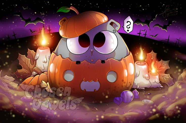 #142 Cute Halloween Pumpkin (+Video) by ChosenVowels.deviantart.com on @DeviantArt