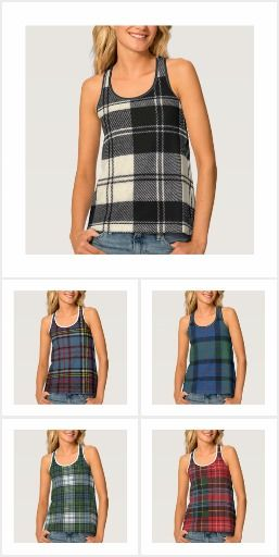 TARTAN AND PLAID CLOTHING