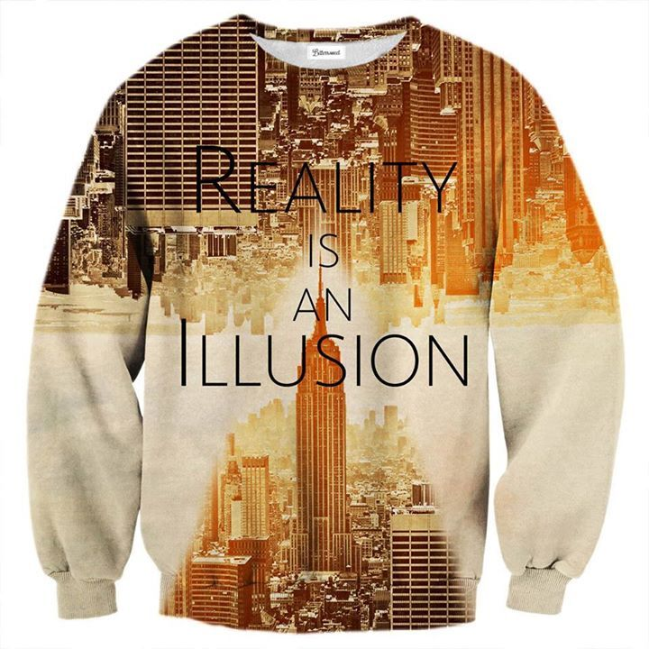 Did you know that recently scientists have found fragments of computer code in the string theory equation? Basically what that means, is that there's a theory in which our universe is just a simulation run by a supercomputer. If this turns out to be true, you better be wearing this jumper. www.bittersweetparis.com