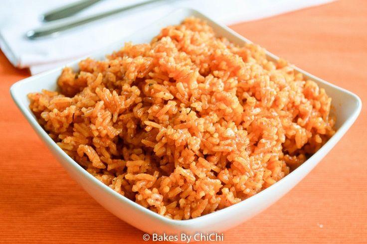 Thai Jasmine Jollof Rice  I don't know who makes it better, I just know I love Jasmine rice.