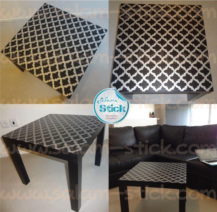 comment customiser une table ikea deco customiser. Black Bedroom Furniture Sets. Home Design Ideas