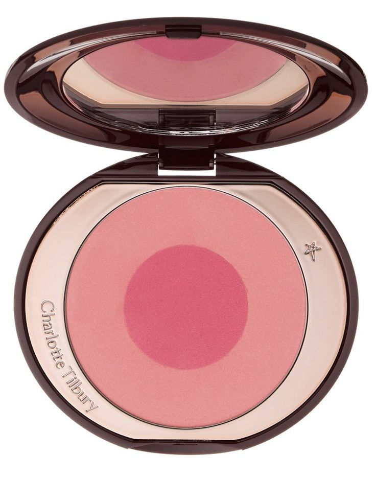 """1. Lighten your load. """"You don't need an extra compact mirror if your blush or palette has a mirror in it. Let your products do double duty."""""""