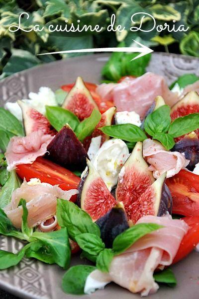 Les 25 meilleures id es de la cat gorie salade de figues - Cuisiner figues fraiches ...