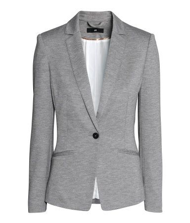 Gray blazer from H&M - can dress up or down super easy!