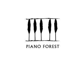 Clever logo - Piano Forest