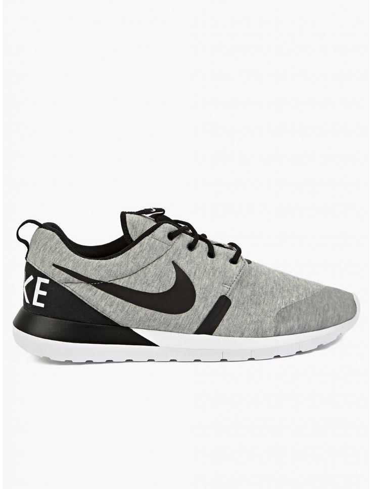 Nike Roshe Courir Hommes Noir Anthracite Aiguisé
