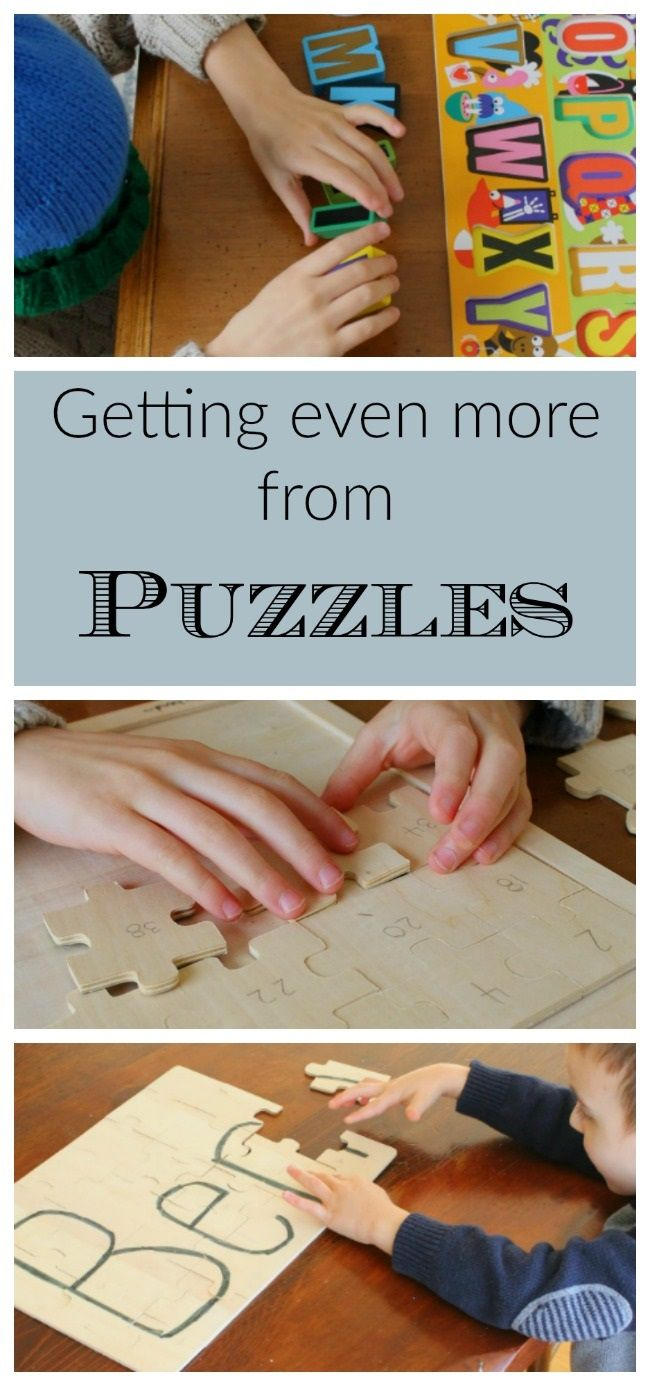 Quiet Time Activities for Children - Getting Even More from Puzzles *Great resource for parents. My kids would love these ideas.