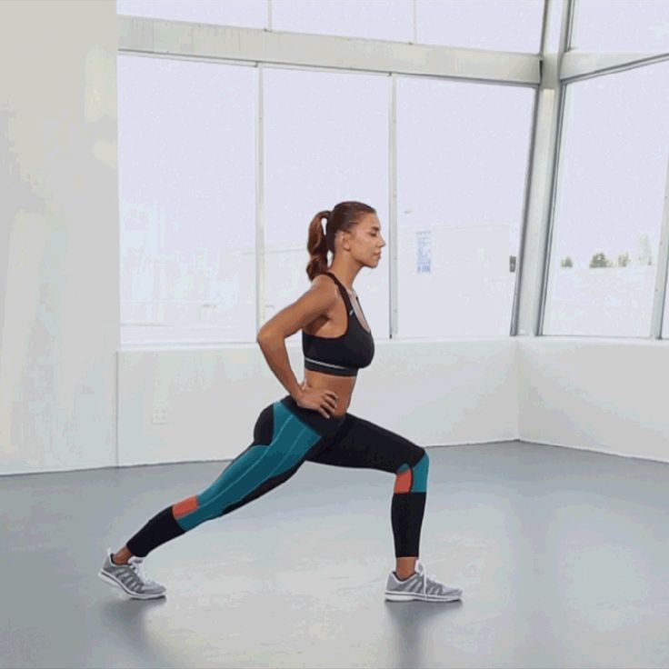 6 Weeks to Summer Challenge - Legs Workout - Lunge and Lift | Self.com