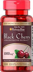 Black Cherry 1000 mg 100 Capsules | Black Cherry | Puritan's Pride