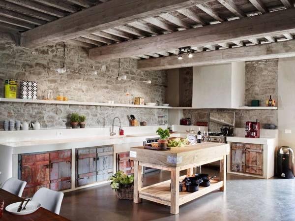 cucina rustica moderna - Cerca con Google | Ispirazioni nel ...