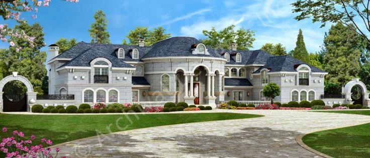 Mumbai | Mansion House Plans | Luxury House Plans | Plan