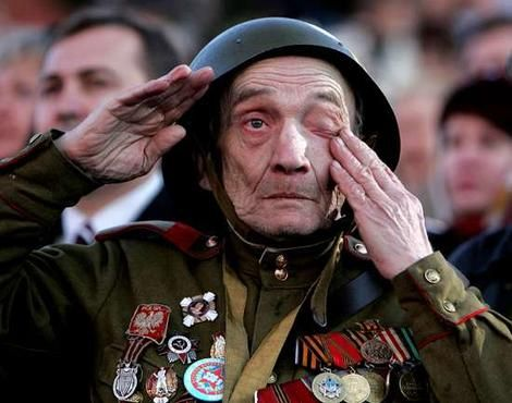 Anniversary of V-Day in Russia [ Many humans survived battles and atrocities that we 'children' cannot know. Pray and be thankful. ]