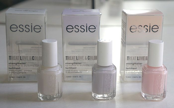 Essie recently introduced a brand new collection, Treat Love & Color which is a hybrid between nail color AND nail care. Full review and swatches on prettyconnected.com