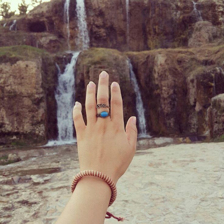 Doğaya merhaba de #hand