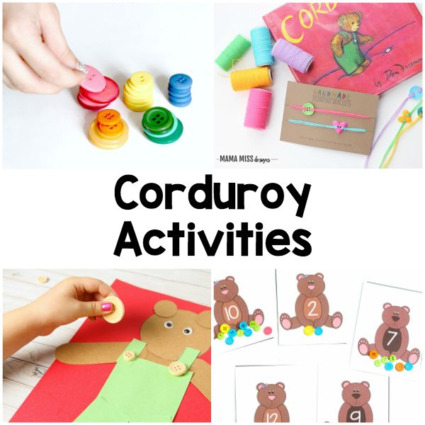 Corduroy book activities for every subject area.