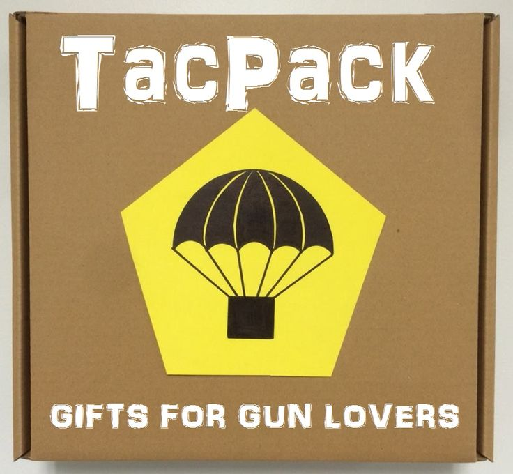 Don't know what to get the gun lover or outdoorsmen in your life? Sign them up for a monthly subscription to TacPack! They will get a monthly shipment of cool gear! Gifts for gun lovers. Gifts for gun enthusiasts. Gifts for gun owners!